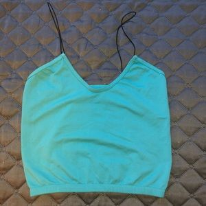 Free People Intimates teal bralette size XS